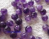 Шарики ювелирных изделий Част-Естественные Amethyst высеканные