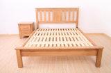 Camas dobro modernas da cama de madeira contínua (M-X2231)