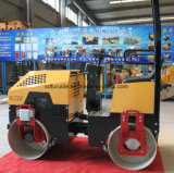 Heiße Verkaufs-Doppelt-Trommel 1 Tonnen-Verdichtungsgerät-Vibrationsrolle