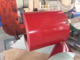 De kleur bedekte de Gegalvaniseerde Rol van het Staal PPGI voor de Tegels van het Dakwerk met een laag