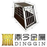 Cage de chien d'emballage de pliage en aluminium