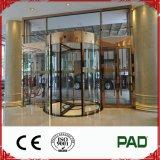Königliche LuxuxglasDrehtüren (3-wing) Bereich-Installation enthalten