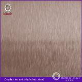 Feuille 304 d'acier inoxydable de fini de balai de nouveaux produits de Foshan