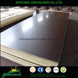 La película de color marrón de contrachapado marino para la construcción con cementos