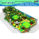 遊園地装置(H14-0924)のための子供の柔らかくいたずらな城