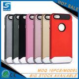 Couverture de téléphone mobile de caisse d'armure de qualité pour l'iPhone 7/7plus