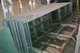 Claro/vidrio Tempered decorativo helado del flotador para la oficina y la ducha