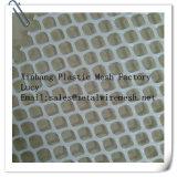 Engranzamento quadrado plástico branco/engranzamento plástico que cerc/rede lisa plástica
