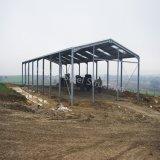 Cloches portiques en métal de structure métallique de lumière de bâti de constructeur professionnel