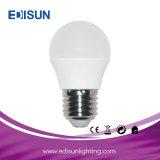 Diodo emissor de luz energy-saving da lâmpada G45 6W E27 que ilumina o bulbo global