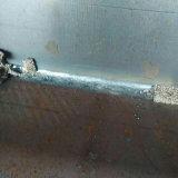 オーバーレイをするローラーのための固められた溶接用フラックス