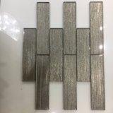Neueste Kristallkaffee-Glasziegelstein-Fliese für Wand-Dekoration (glatte Oberfläche)