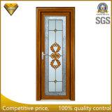 Porte en aluminium de tissu pour rideaux de couleur en bois/porte articulée de /Swing de porte