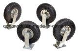 8 Zoll pneumatische steife Hochleistungsfußrollen-