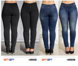 Neue Entwurfs-Dame-Cowboy-Jeans für Sommer