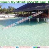 Tuiles de toiture en plastique de chaume de paume de chaume synthétique artificielle de chaume