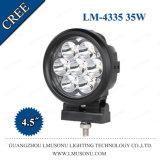 4.5 인치 35W 지프 Offroad 방수 크리 사람 LED 작동되는 램프