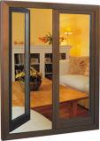 알루미늄 클래딩으로 된 나무 문과 창문