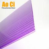 Le plastique clair de PC de feuille de Sun de polycarbonate lambrisse la feuille de toiture