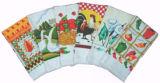 印刷された台所タオル