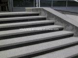 Pulido naturales al aire libre Pasos de piedra de granito Escaleras Elevadores (YQC-S1002)