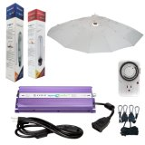 Se Umbrella Grow Light 600W Kit