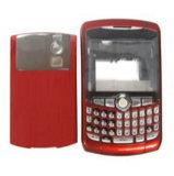 Logement compatible pour téléphone Blackberry 8300 (rouge)