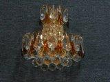 Lampe de mur en cristal