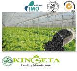 O fertilizante orgânico de 100% fornece os nutrientes necessários para o crescimento de planta