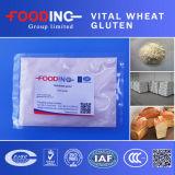 Glutine di frumento vitale ad alta percentuale proteica del commestibile