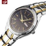 La mode luxe hommes Quartz Watch en acier inoxydable