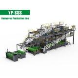 Высокая урожайность Unwoven производственной линии нетканого материала машины