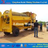 Placer equipamentos de mineração de ouro Placer Trommel Gold