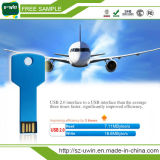Amostras grátis 8GB USB Flash Drive Key Shape