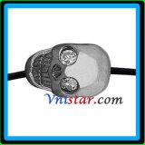 [سترلينغ سلفر] جمجمة خرزة [سمب038-9] مع واضحة أحجار حجم في [912مّ] ([سمب038-9])