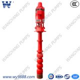 Pompe à eau verticale surplombée parArbre d'incendie de turbine (norme ISO9001)