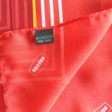 Madame rouge Silk Scarf (SC009) d'impression de grand dos neuf de modèle d'Elegent de mode
