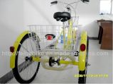Tricycle à cargaison assise à pédale China Factory (FP-TRB-J04)