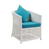 Mobilia esterna del giardino della mobilia del tessuto cinese di Sunproof con il cuscino