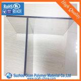strato rigido del PVC della plastica dura trasparente spessa di 1.5mm per perforare
