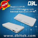 8 GSM van GoIP van de haven/van het Kanaal Gateway goIP-8I