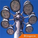 15m LED de alta del mástil de iluminación con lámpara de inundación de 200W LED (DX-75DA)