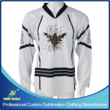 Ice HockeyジャージーのためのカスタムSublimation Fitted Ice Hockey Clothing