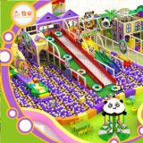 Parque de diversões para o campo de jogos interno da tubulação de Gavanized do campo de jogos dos miúdos e dos miúdos dos adultos macio