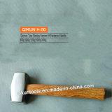 H-50 строительного оборудования ручного инструмента из твердых пород дерева ручку немецкого типа забрасывание камнями молотка
