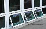 Ventanas de aluminio de eficiencia energética con tramas de corte térmico
