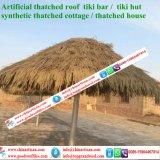 합성 이엉 인공적인 종려 잎 초가지붕 초막