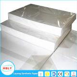 La impresión de papel sintético Letterpress PP