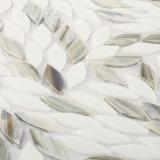 La nueva hoja del diseño modela el azulejo de cristal gris de Backsplash de la cocina del mosaico