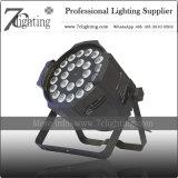 24X10W RGBW PAR LED Spotlight etapa iluminación Decoración